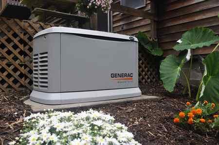 Где на улице можно разместить генератор?