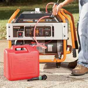 Как долго может работать генератор до следующей заправки?